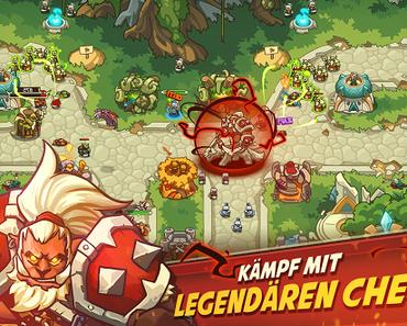 Empire Warriors TD Premium: Tower Defense Games, Gold Miner Vegas: Gold Rush und 8 weitere App-Deals (Ersparnis: 12,40 EUR)