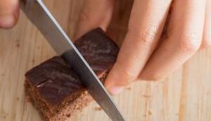 Vegane Domino-Lebkuchen verstecktem gesunden Kick