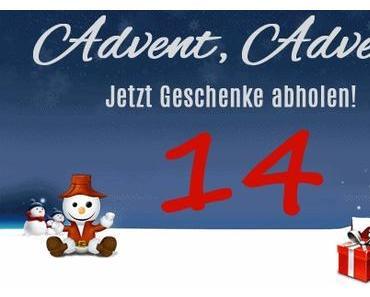 14. Tag vom Weihnachtsgiveaway.de mit Adventskalender