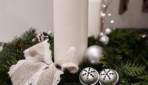 Meter Weihnachtskranz basteln Weihnachtszeit