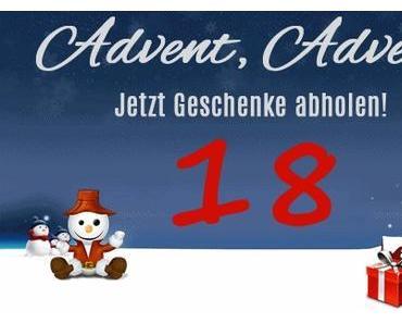 18. Tag vom Weihnachtsgiveaway.de mit Adventskalender