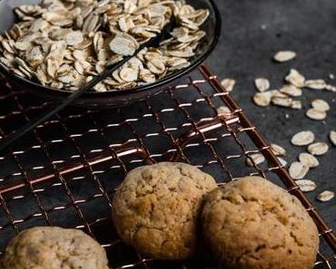 Vegane Hafer-Cookies