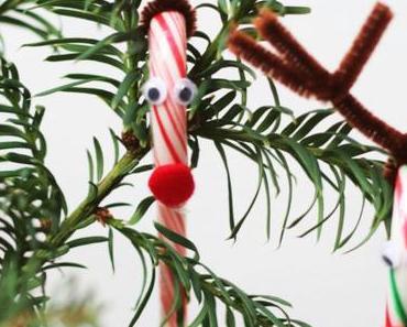 Zuckersüße Zuckerstangen-Deko – Last Minute Ideen für's Weihnachtsfest