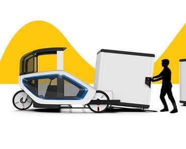 ONO – futuristisches E-Cargo-Bike ersetzt LKWs