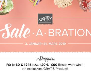 Die aufregendste Zeit des Jahres steht bevor! Die Sale-A-Bration!
