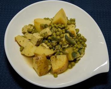 Kartoffel-Tofu-Topf oder Fränks Leibgericht (vegan)