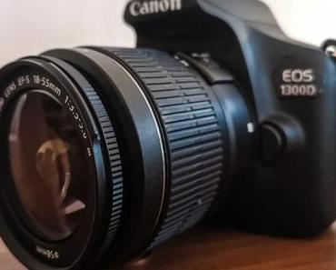 Einsteigertip – Canon EOS 1300D