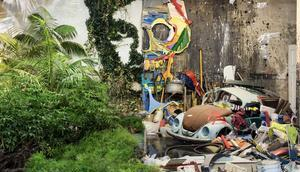 Upcycling Kunst Portugal Statement gegen Plastikmüll