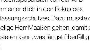 Pöbel-Ralle (SPD) bestätigt Aussage Ex-Präsidenten Verfassungsschutzes über linksradikale Kräfte