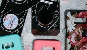 Anzeige Smartphones neue Kleider: Hüllen PopSockets Handhuellen.de!