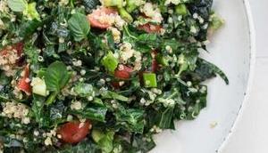 Tabouleh-Salat Schwarzkohl Quinoa