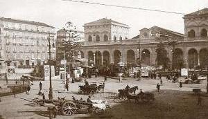 Bahnreise nach Italien Napoli Centrale