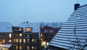 Foto: wenig Schnee