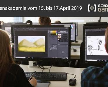 Ferien-Workshops für Jugendliche vom 15.-17.April 2019 an der School of Games in Köln