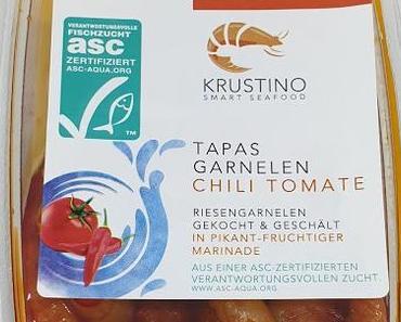 Krustino Smart Seafood - Tapas Garnelen Chili Tomate