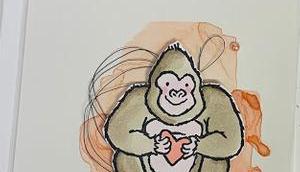Gorillaliebe Valentinstag