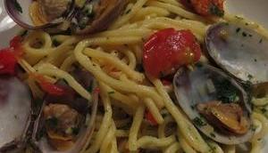 Spaghetti Vongole tradizionalmente
