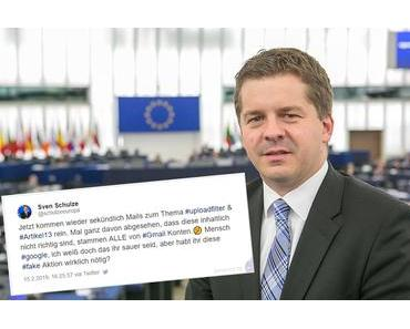 Protest gegen Uploadfilter trifft voll die CDU