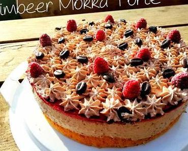 Himbeer-Mokka-Torte