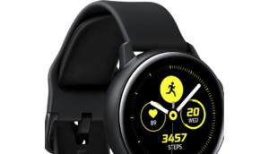 Samsung Galaxy Watch Active Smartwatch Blutdruckmessung (vielleicht)