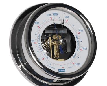 Wie genau sind analoge Barometer? Das VION A130 BO gibt die Antwort!