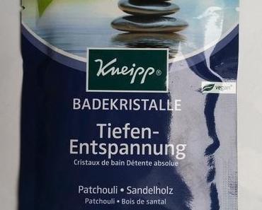 [Werbung] Kneipp Badekristalle Tiefenentspannung + PARSA Bauty Augenbrauenformer