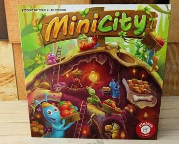 Als Ameise muss man den Bau in MiniCity mit Futter füllen #Piatnik #Spiele #Kinder