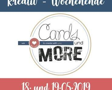 Kreativ-Wochenende 18./19.05.2019