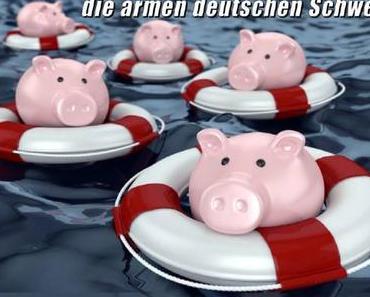 Die armen deutschen Schweine