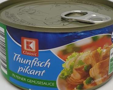 Kaufland - K-Classic Thunfisch pikant in feiner Gemüsesauce