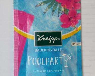 [Werbung] Kneipp Badekristalle Poolparty (LE)