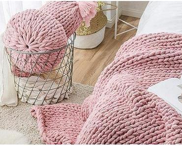 Handgestricktes aus dicker Wolle