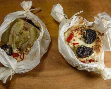 Fenchel mit frischen Feigen in Papierfolie gebacken (vegan)