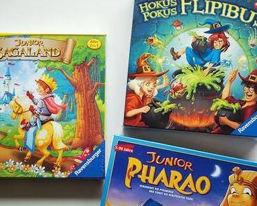 Lieblingsspiele für Kinder ab 3 Jahren