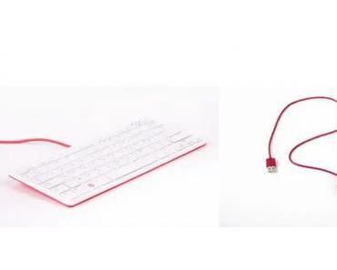 Das offizielle Keyboard mit Maus für den Raspberry Pi