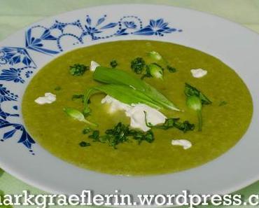 Samstagseintopf: Kartoffel-Bärlauch Suppe