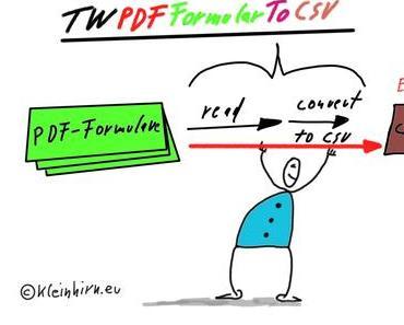 Update PDF-Formulare automatisch auswerten – PDF-Formulare to CSV (Excel) – Version 0.0.2 veröffentlicht – nun auch für Windows!