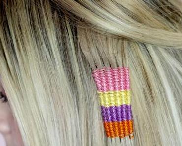 Coachella Festival Hairstyle – DIY Hair Tapestry