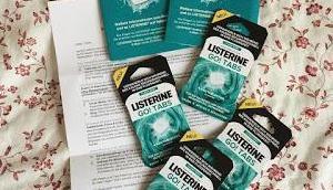 Listerine Tabs Werbung