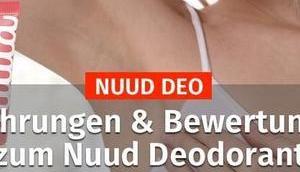 NUUD Erfahrungen Bewertungen Deodorant 2019