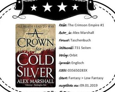 Alex Marshall – A Crown for Cold Silver