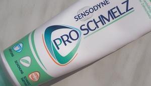 [Werbung] Sensodyne Schmelz Zahnpasta Ausbeute