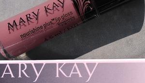 [Werbung] Mary nourishine plus Lipgloss Café lait alverde Pure Beauty Cream mittel