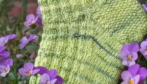 Mehr grüne Socken Nähen guten Zweck