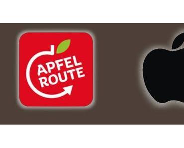 Logostreit Apple gegen Apfelroute