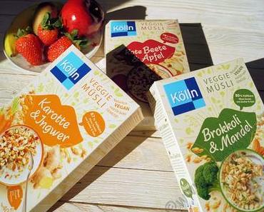 Muesli und Gemuese? Ja das gibt es und es passt sogar richtig gut zusammen #Kölln #Veggie #Food