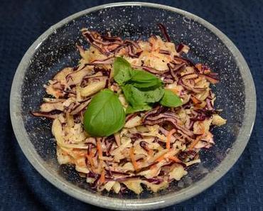 Kohlsalat  mit Möhren (vegan)