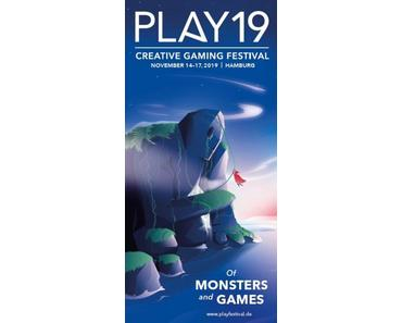 Motto Monster: PLAY19 Creative Gaming Festival vom 14. bis 17. November in Hamburg