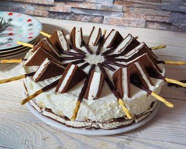 Für alle Michschnitten Fans habe ich genau die richtige Torte #Rezept #Banane #NjamNjam