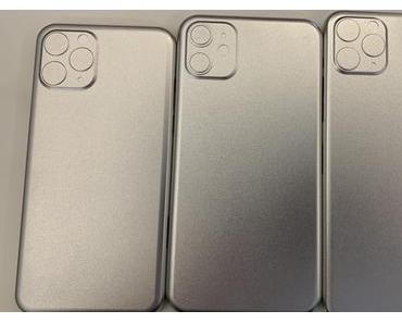 Leak: Rechteckiger Kamera-Ausschnitt bei allen neuen iPhone-Modellen 2019?